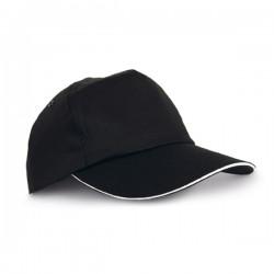 Бюджетна бейзболна шапка за брандиране тип сандвич