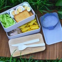 Персонализирана кутия за храна с име или инициали, възможност за атрактивен детски дизайн