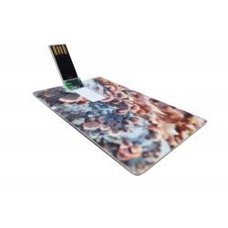 Индивидуална USB флаш карта с печат от двете страни