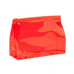Бюджетна козметична PVC чанта с херметично затваряне за брандиране