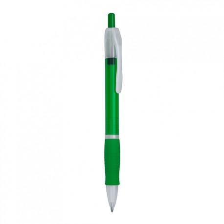 Бюджетна химикалка от полупрозрачна пластмаса за брандиране