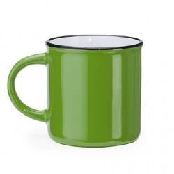 Рекламна керамична чаша в стил винтидж с кръгла дръжка за брандиране