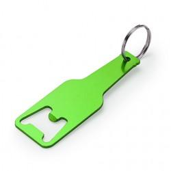 Рекламен алуминиев ключодържател с отварачка, с дизайн на бутилка за брандиране