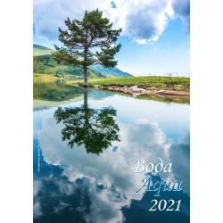 Рекламен многолистен календар Вода