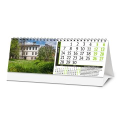 Настолен 13 листов календар Възрожденска архитектура 2021