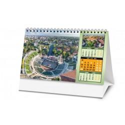 Мини календар с панорамни снимки от София