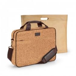 Елегантна чанта за лаптоп от корк