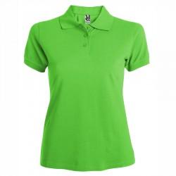 Дамска вталена риза с къс ръкав Roly