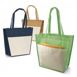Практична пазарска чанта от нетъкан текстил