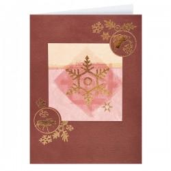 Коледна картичка в класически стил