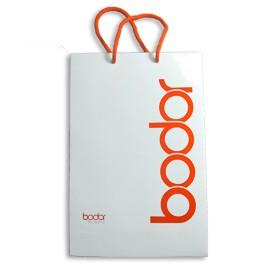 Луксозна хартиена торбичка с памучни връзки