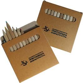 Брандирани детски моливи