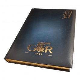 Луксозен бележник с позлатени краища на страниците