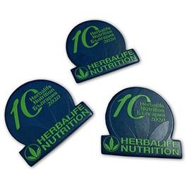 Кожени значки с пълноцветен печат на лого
