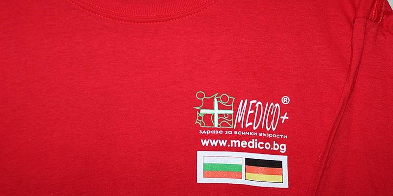 Ситопечат четири цвята на рекламни тениски