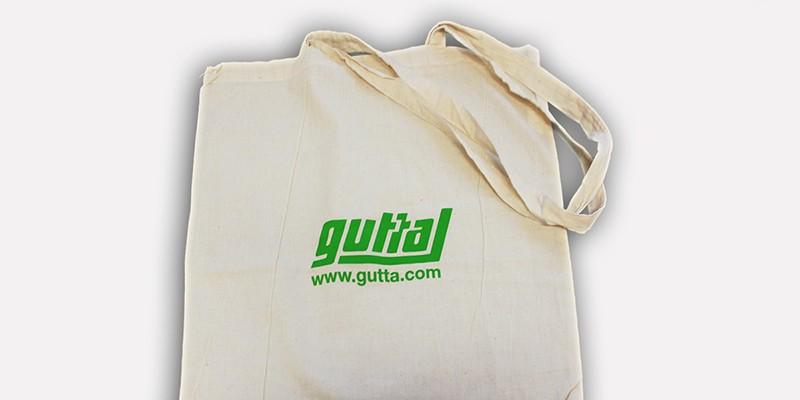 Едноцветен ситопечат на памучни чанти