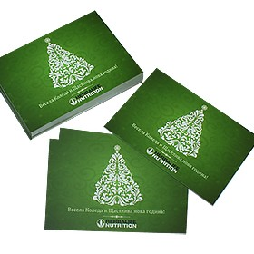Коледни поздравителни картички