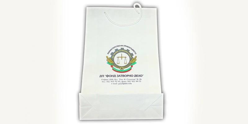 Пълноцветен печат на хартиени торбички