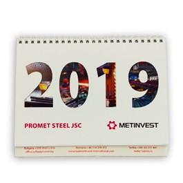 Настолен рекламен календар