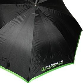 Автоатичен чадър с двуцветен печат на лого Хербалайф