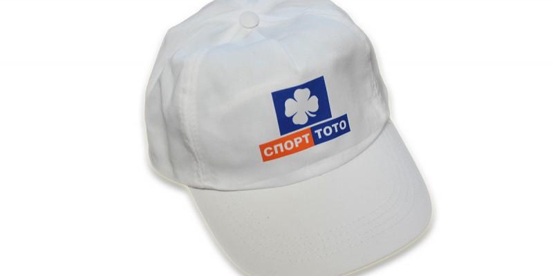 трансферен печат на памучни шапки два цвята