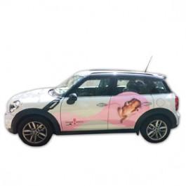 Брандиране на рекламни автомобили с фолио