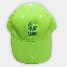 Бродирано лого Goethe на плътна памучна шапка